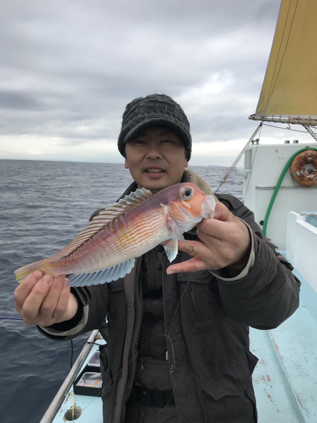 スタッフ平賀釣行記〜アマダイ30cm-32cm/2匹
