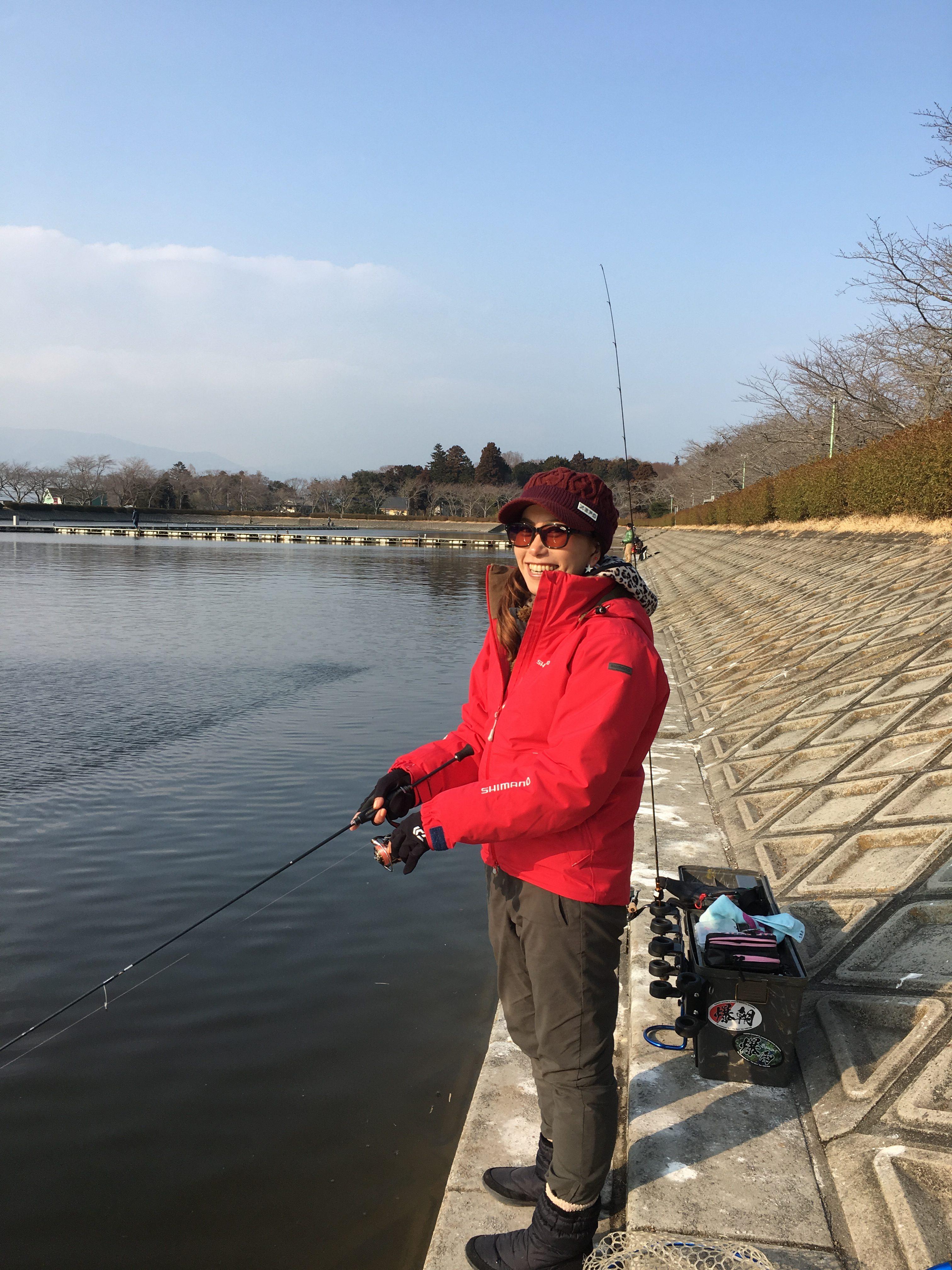 スタッフ千鮎釣行記〜東山湖F.A.・ニジマス5匹(居残り釣果)〜