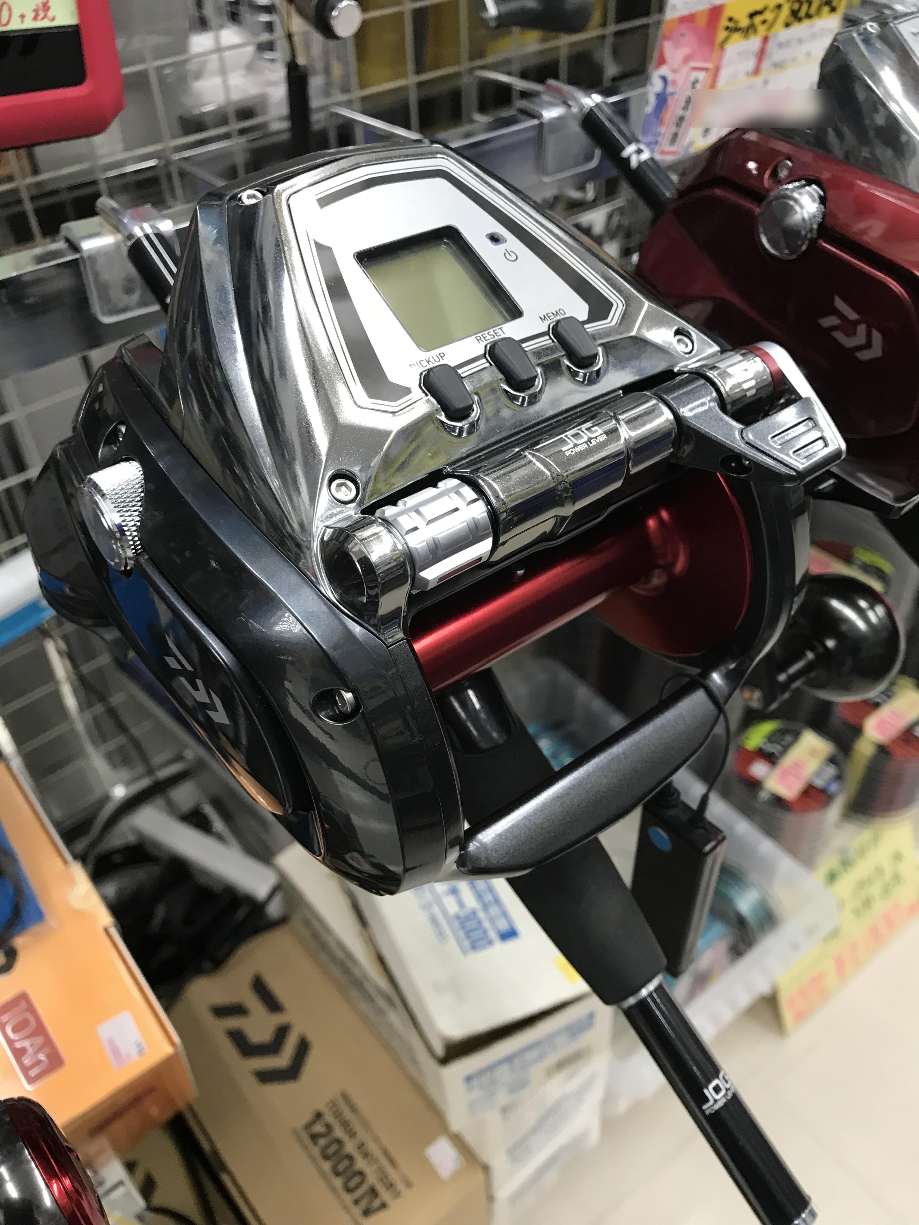 リーズナブルな1200番モデル登場!ダイワ『シーボーグ 1200J』