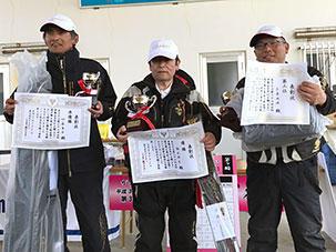 横浜市・鈴木様〜クロダイ 3尾で4.94kg〜
