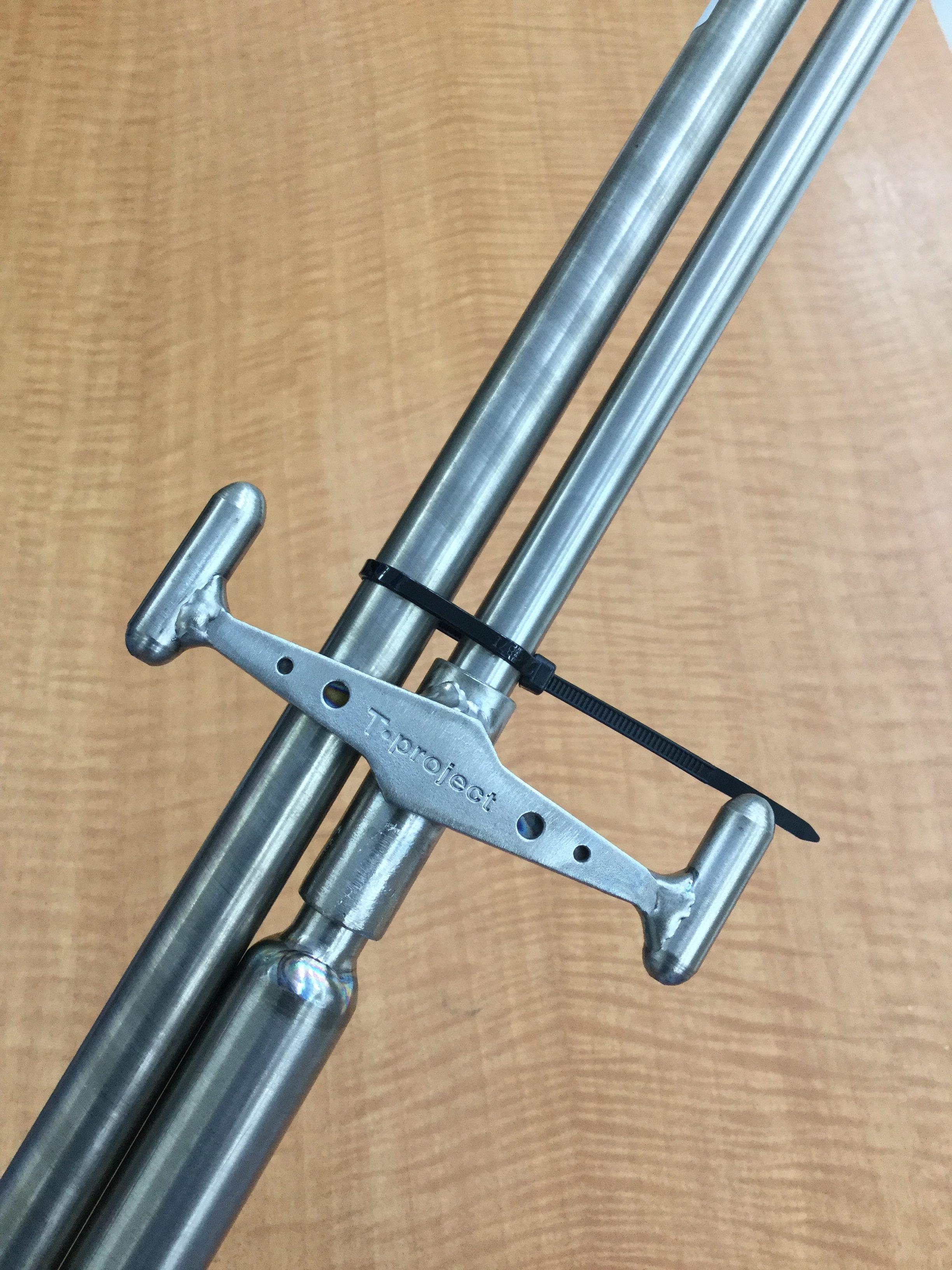 軽くて丈夫なチタン製!久々の入荷!T-プロジェクト『オールチタンチャラン棒3 TP-TB3』
