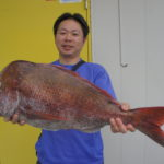 中村様~マダイ71cm 5.3kg~