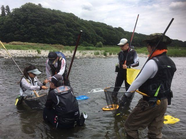 【報告】2018年6月13日(水)相模屋鮎友釣り初めて講習会