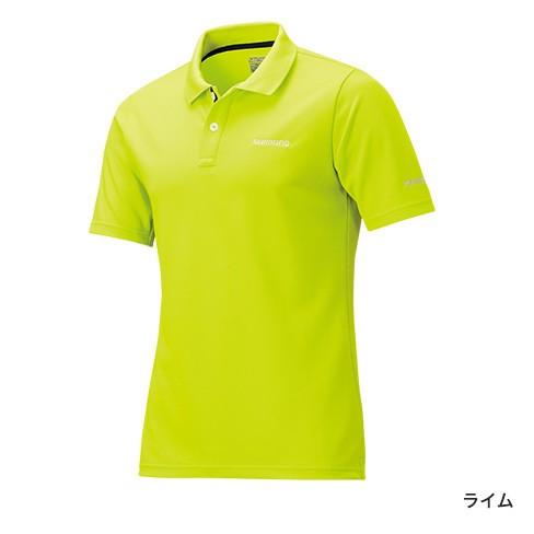 吸水速乾&UVカット機能バッチリ!シマノ『ポロシャツ(半袖)SH-074R』