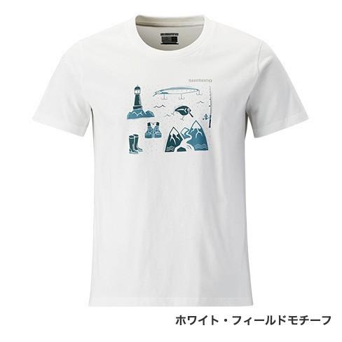 デイリーにお使いいただけるデザイン!シマノ『コットンTシャツ(半袖)SH-096R』