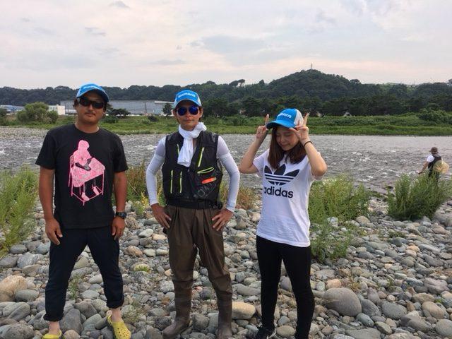 【報告】2018年7月22日(日)相模屋鮎友釣り初めて講習会