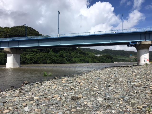 相模川 高田橋周辺の川の状況・水郷田名店臨時休業のお知らせ
