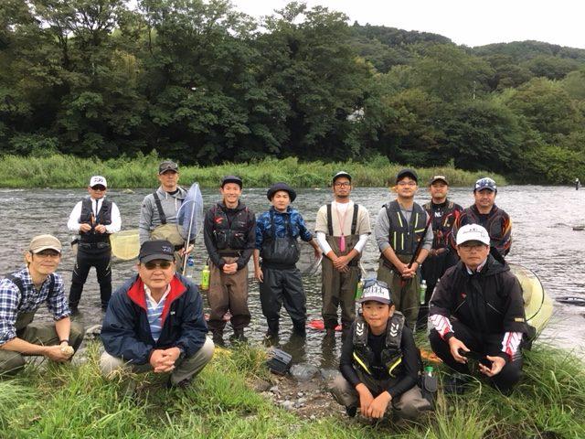【報告】2018年9月12日(水)相模屋鮎友釣り初めて講習会