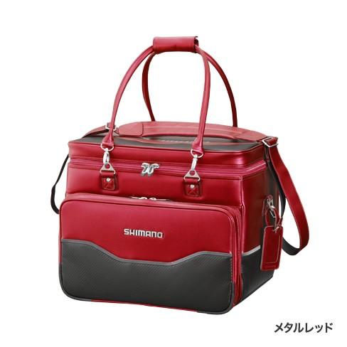 人気のへらバッグに新色追加!シマノ『ヘラバッグXT  BA012Q  メタルレッド』