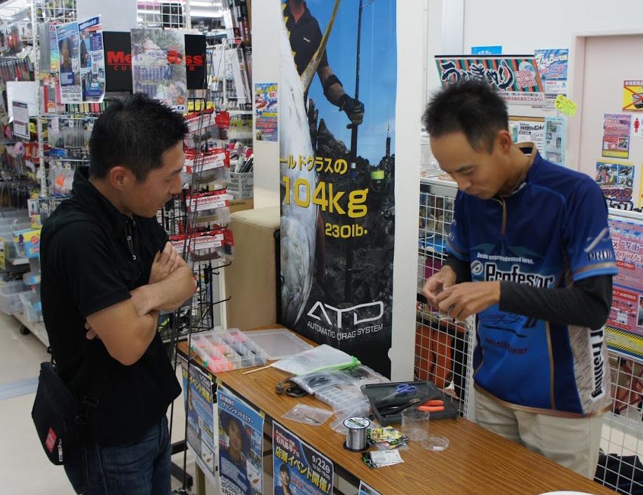 【報告】2018年9月22日(土)Professor代表 石川 晶平プロ来店!