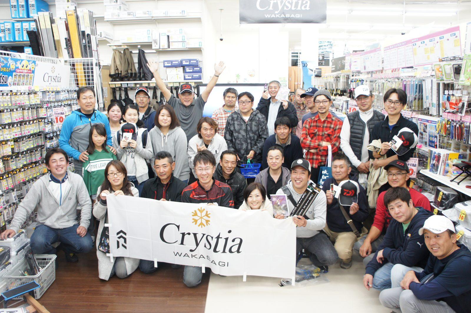 【報告】2018年11月3日(土)クリスティアの日 千島克也氏来店
