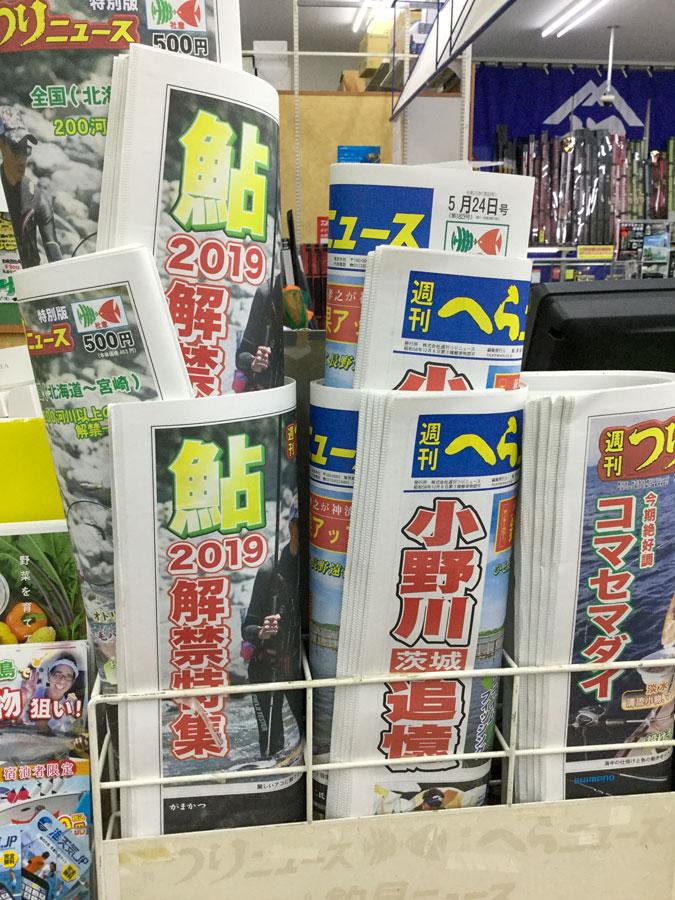 相模川6月1日解禁!週刊つりニュース『特別版 2019鮎解禁特集』