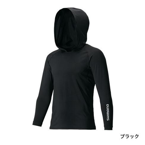 シマノ『SUN PROTECTION ロングスリーブフーディシャツ IN-062Q』