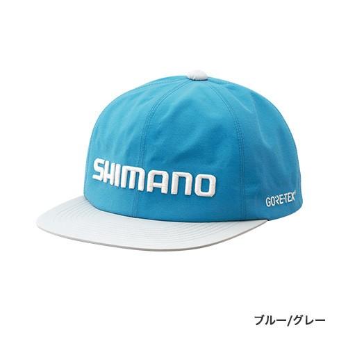 シマノ『GORE-TEX® フラットブリムキャップ CA-011R』