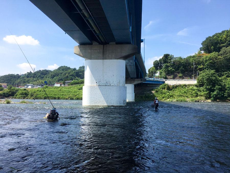 2019年6月26日(月)10時 相模川の様子