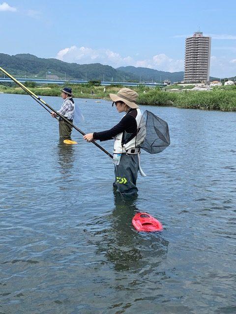 【報告】2019月8月24日(土)相模屋鮎友釣り初めて講習