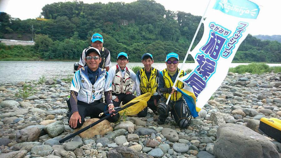 【報告】2019年8月21日(水)相模屋鮎友釣りレベルアップ教室(島名人)