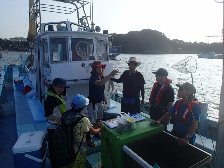 2019年7月31日(水)相模屋シロギス船釣り教室