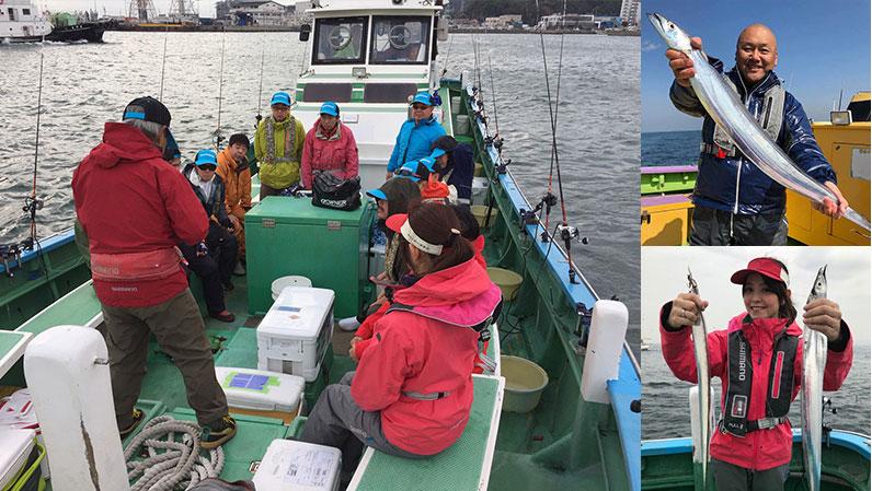 2019年10月19日(土)相模屋&シマノ おとな釣り倶楽部 タチウオ釣り体験会