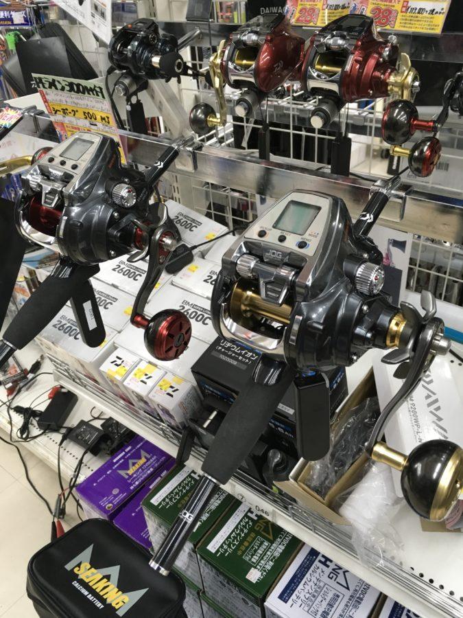 DAIWA『シーボーグ500JS/500JP』