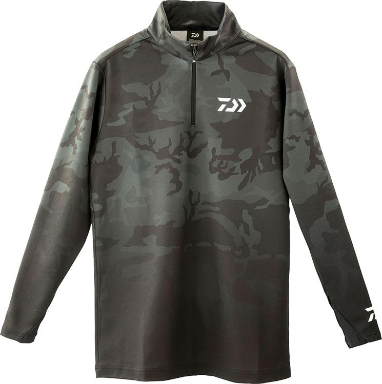 DAIWA『DE-33009 ブレスマジックハーフジップシャツ』