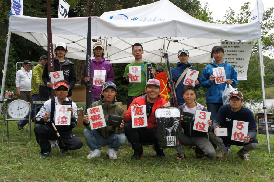 【報告】2019年10月6日(日)第24回相模屋謝恩親睦バス釣り大会