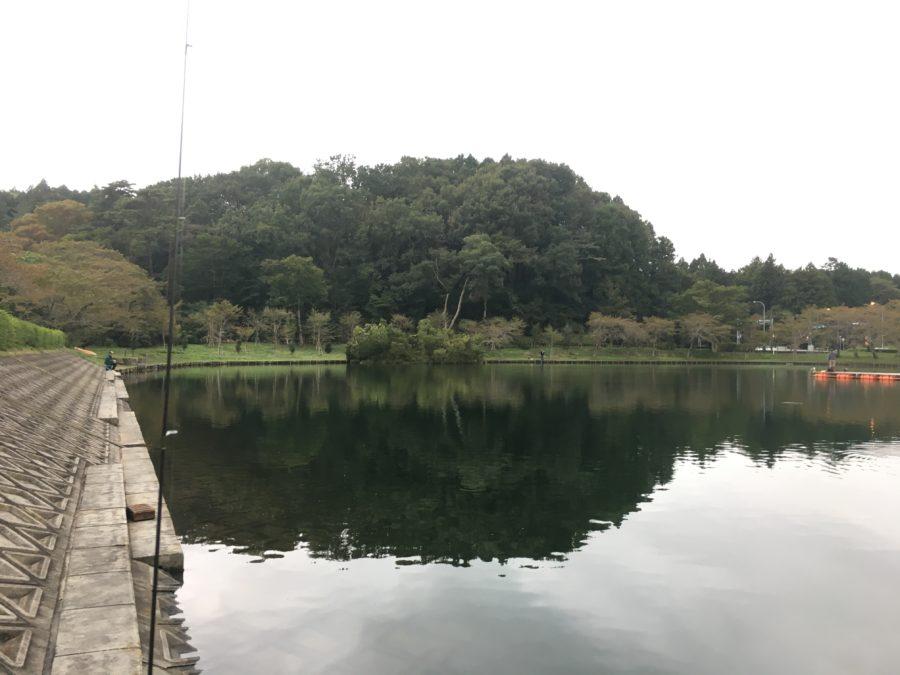 スタッフ千鮎釣行記~東山湖FA・ニジマス15匹くらい~
