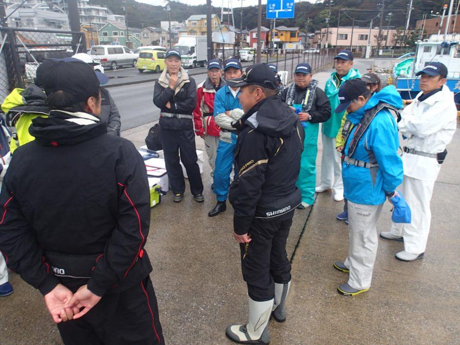 【報告】2019年10月19日(土)相模屋&シマノ おとな釣り倶楽部 タチウオ釣り実釣会