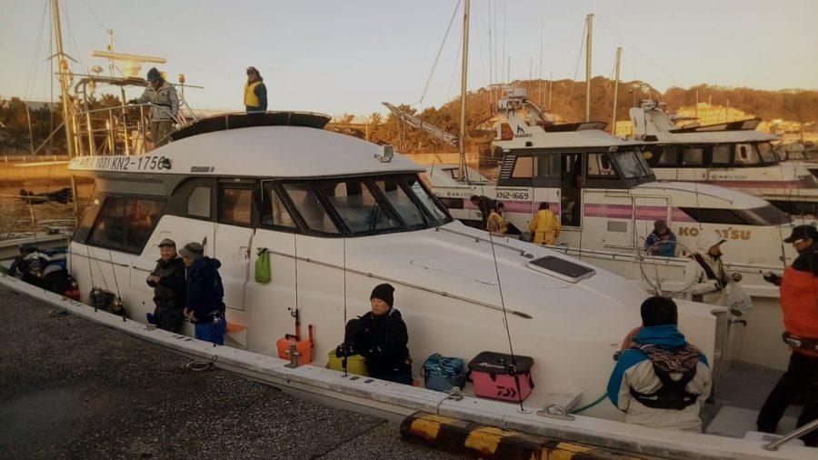 【報告】2019年12月8日(日)相模屋×CLUEタチウオジギング実釣講習会