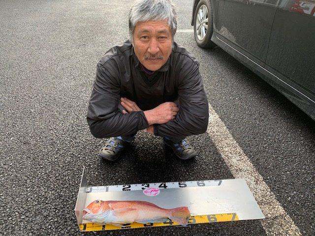 八王子市・宮崎様〜アマダイ/最大54cm・4匹〜