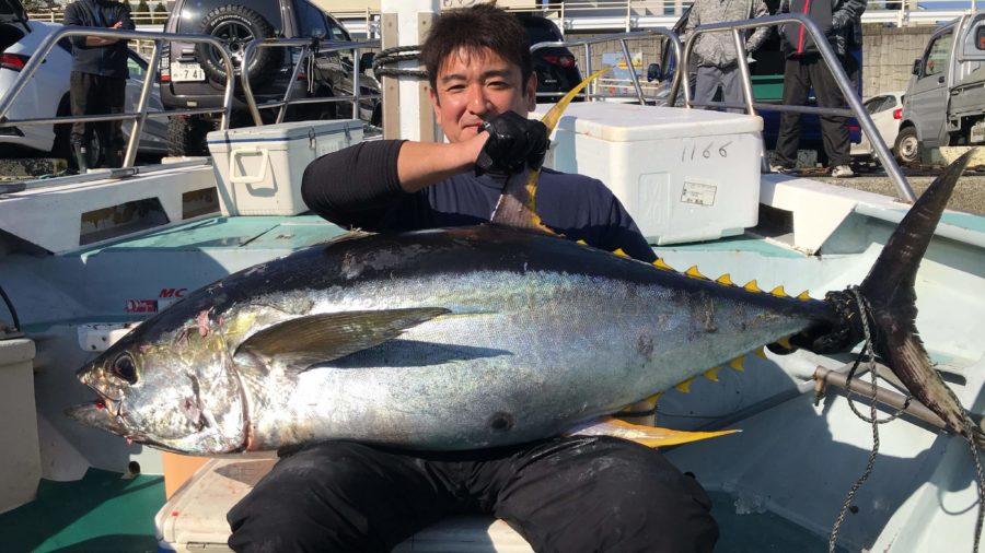 愛甲郡・草柳様~キハダマグロ50kg/1匹~