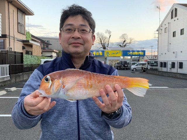 相模原市・鶴田様~アマダイ最大36cm/3匹~