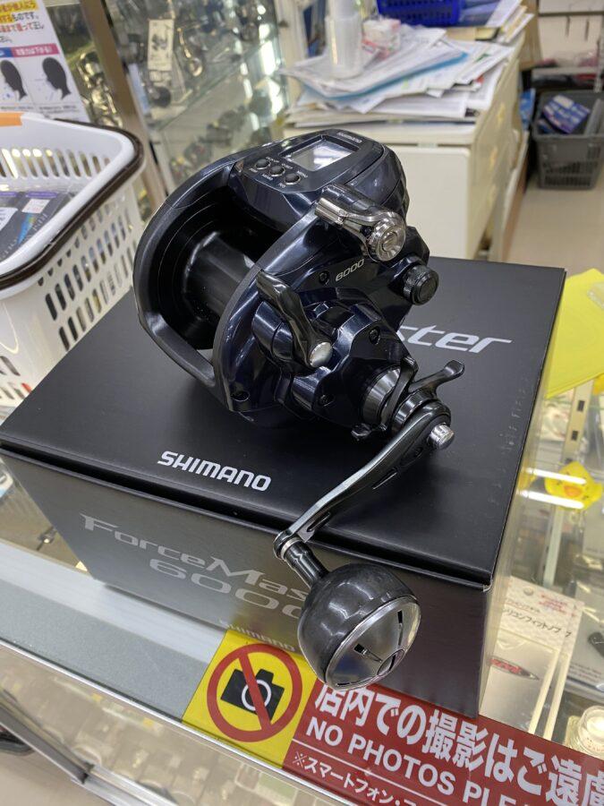 シマノ『フォースマスター6000』