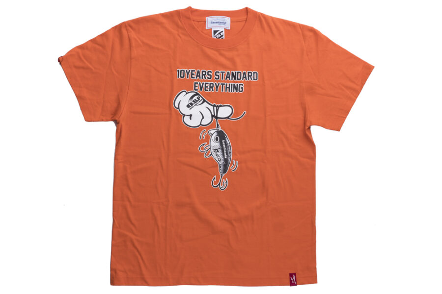 スタッフ千鮎も購入!O.S.P『O.S.P×bassmania handlure BUZZN Tシャツ』