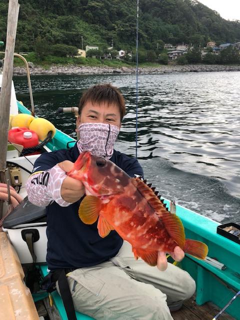 スタッフ平賀釣行記~アカハタ16匹・カサゴ24匹~
