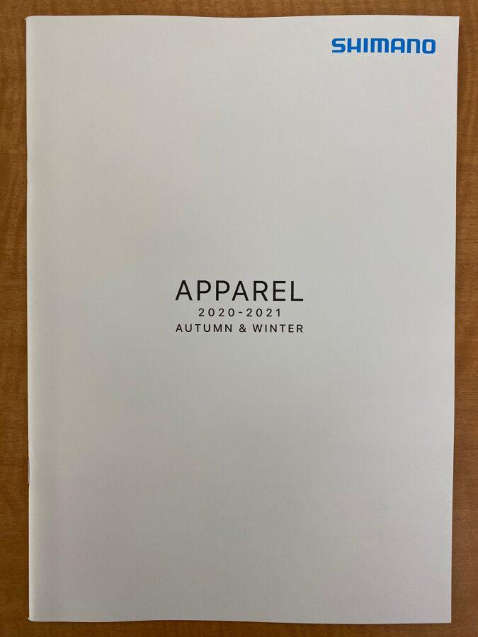 秋冬ウェアカタログ入荷!シマノ『APPAREL2020-2021 AUTUMN&WINTER』
