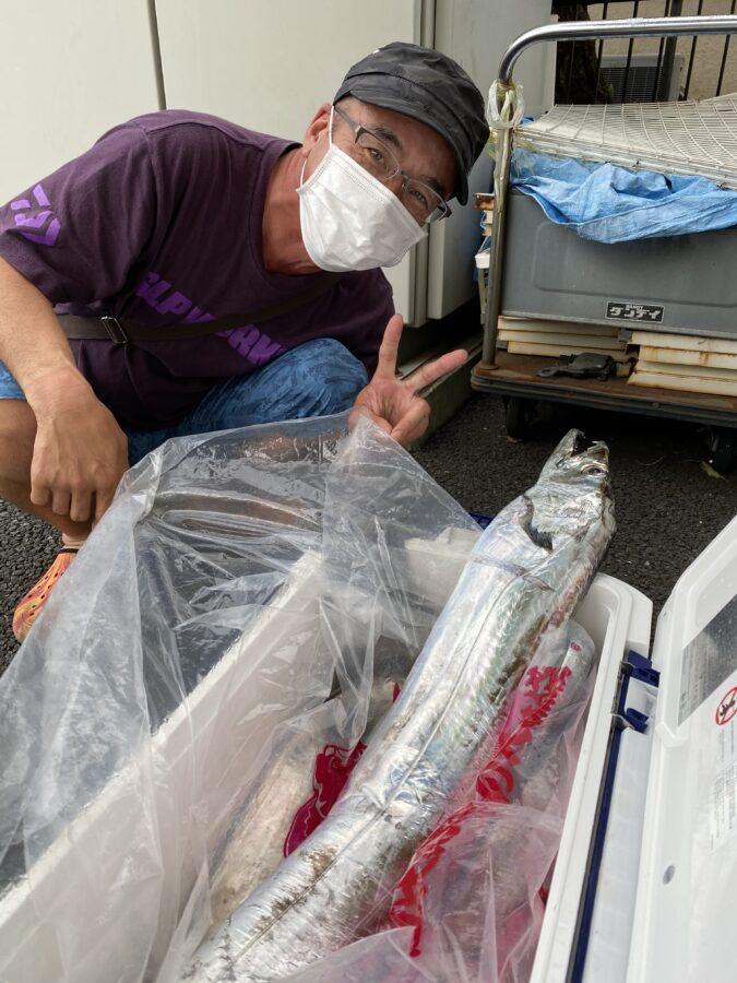 相模原市・野口様~タチウオ最大F7/15尾~