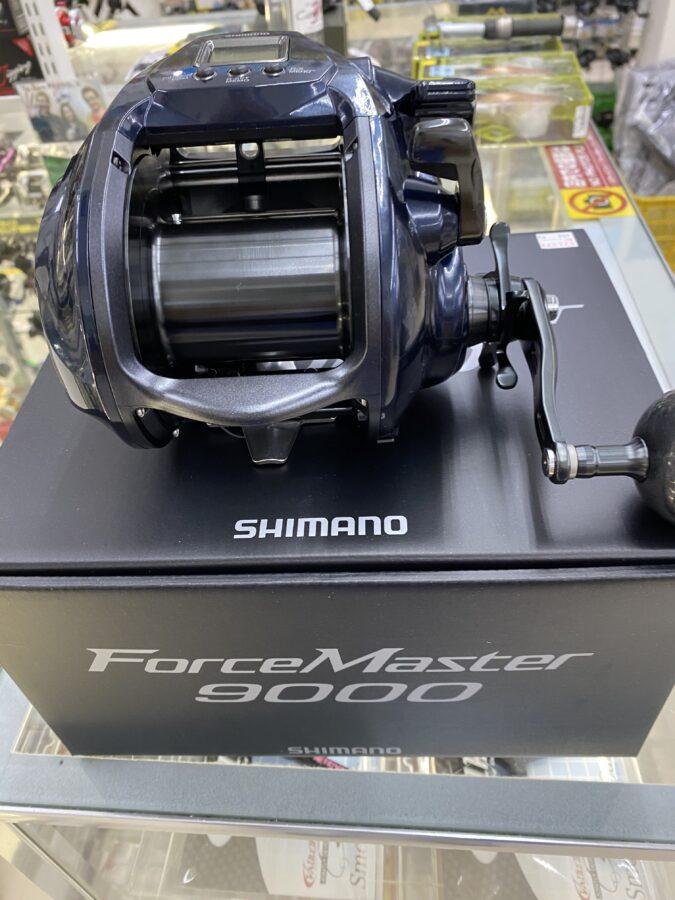 パワーアップ&スタイリッシュに!シマノ『フォースマスター9000』