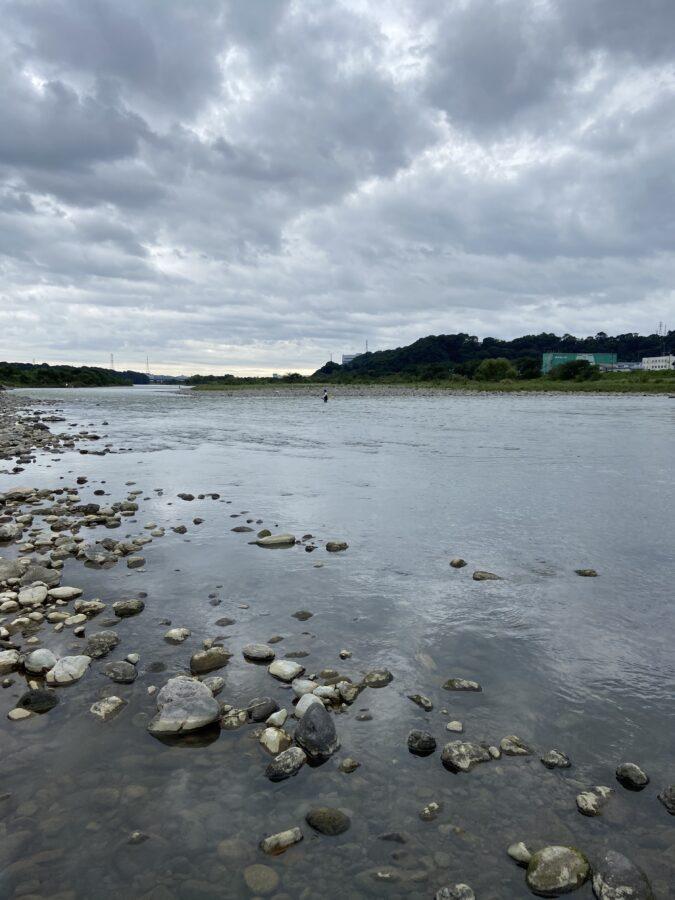 2020年9月20日の相模川の様子