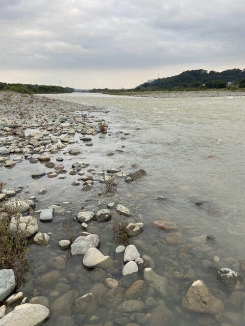 2020年10月15日(木)相模川の様子 と ご挨拶