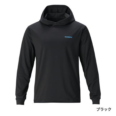 1枚でも着られます!シマノ『SH-035T ブレスハイパー+℃フーディー』
