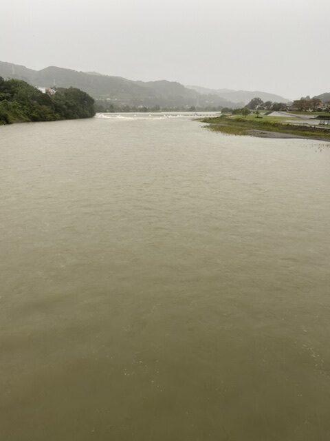 2020年10月10日(土)相模川の様子