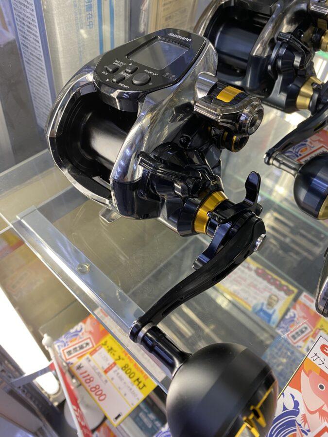 新製品入荷!XP・XSの強化版!シマノ『ビーストマスター3000EJ』